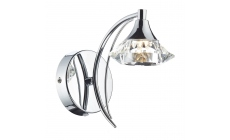 Lena SingleWall Light Polished Chrome