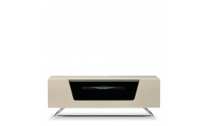 Omega - Chromium TV Unit Ivory High Gloss