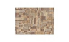 Galleria Rug 079-0244-4848 Taupe/Grey Stripes