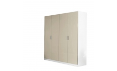Amalfi - 4 Door Hinged Door Robe Height 197cm