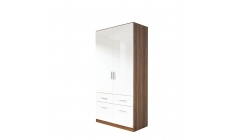 Amalfi - 2 Door 4 Drawer Combi Robe Height 210cm