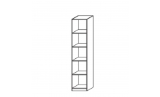 Amalfi - Shelf Unit Height 210cm