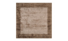 Blade Border Rug Chocolate Mocha