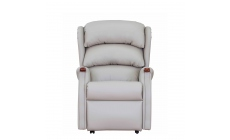 New Woodstock - Grande Dual Motor Lift/Tilt Recliner In Leather