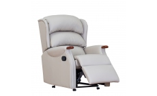 New Woodstock - Grande Manual Recliner In Leather