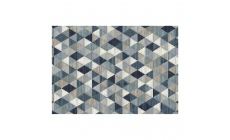 Galleria Rug 063-0263-5161 Blue Triangles