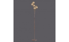 Satsuma Floor Lamp Bnz