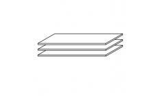 Viva - Set Of 3 88cm Shelves