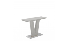 Pluto - Console Table Grey High Gloss