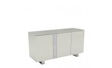 Cantania - 3 Door Sideboard With Gloss White Top