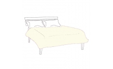 Egyptian 200 Count Ivory Duvet Cover Superking