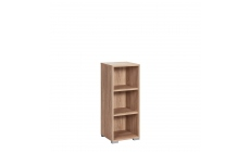 Vega - 2 Shelf Narrow Bookcase