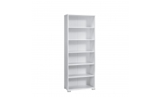 Vega - 5 Shelf Wide Bookcase
