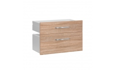 Vega - 1 Wide Drawer, 1 A4 Filing Cabinet Drawer
