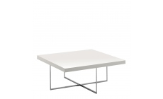 Bernini - Square Coffee Table White High Gloss