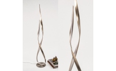 Hue LED Floor Lamp Steel