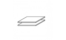 Reflection - 43cm Set Of 2 Shelves