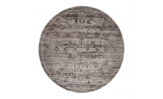 Twilight Rug TWI01 Silver Circle