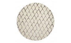 Twilight Rug TWI15 Grey/Ivory Circle