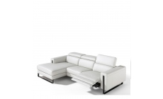 Philo - Chaise Group LHF With Power Recliner In Leather