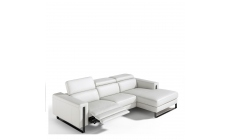 Philo - Chaise Group RHF With Power Recliner In Leather