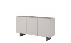 Barcelona - Sideboard Grey Gloss With Ceramic Inlayed Top