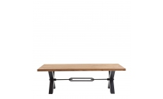 Colossus - Dining Table Straight Edge Kansas Leg
