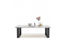Mondo - Dining Table Raw Edge U-Leg