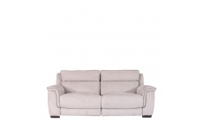 Monza Fabric - 2.5 Seat Compact Sofa With Double Power Recliner In Fabric