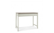 Bremen - Desk In Grey Washed Oak With Soft Grey Finish