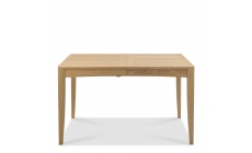 Bremen - 130cm Extending Dining Table With Oak Finish