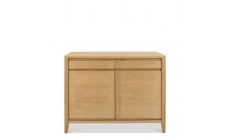 Bremen - Narrow Sideboard With Oak Finish