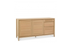 Bremen - Wide Sideboard With Oak Finish