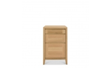 Bremen - Filing Cabinet With Oak Finish