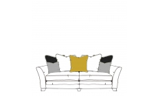 Arnage - 4 Seat Split Sofa Pillow Back