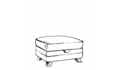 Arnage - Small Storage Footstool