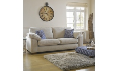 Lewis - 3 Seat Sofa In Aqua Clean