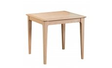 Suffolk - Small Fixed Top Table Oak Finish