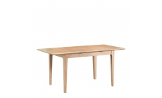 Suffolk - 1.2m Butterfly Extending Table Oak Finish