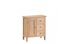 Suffolk - Large Cupboard Oak Finish