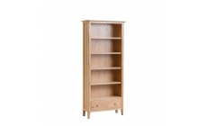 Suffolk - Large Bookcase Oak Finish