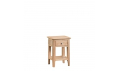 Suffolk - Side Table Oak Finish