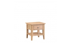 Suffolk - Lamp Table Oak Finish