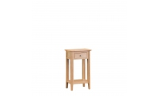 Suffolk - Telephone Table Oak Finish