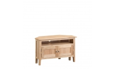 Suffolk - Corner TV Cabinet Oak Finish