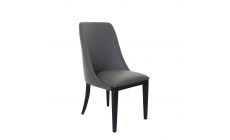 Tuscany - Dining Chair In 301 Grey Leather