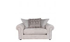 Bellagio - Scatter Back Loveseat In Fabric