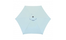 Genoa - 2.5m Parasol Duck Egg Blue