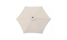 Genoa - 2.5m Parasol French Grey