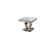 Missano - Lamp Table Grey Marble Top